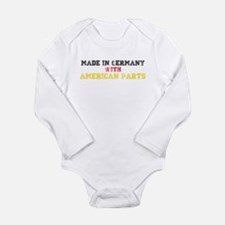 Made in Germany Long Sleeve Infant Bodysuit