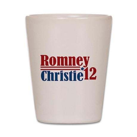 Romney Christie 2012 Shot Glass