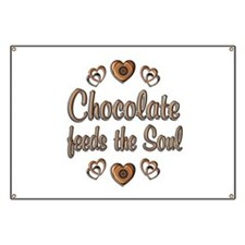 Chocolate Feeds Souls Banner