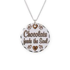 Chocolate Feeds Souls Necklace