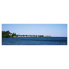 Michigan, Upper Peninsula, Eagle Harbor, Lake Supe Poster