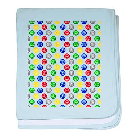 Bingo Balls baby blanket