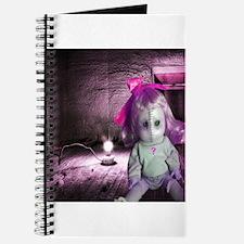 Creepy Maggie doll Journal