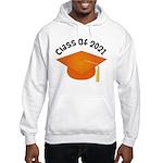 Class of 2021 (Orange) Hooded Sweatshirt