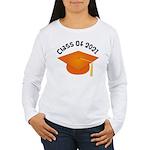 Class of 2021 (Orange) Women's Long Sleeve T-Shirt