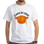 Class of 2022 (Orange) White T-Shirt