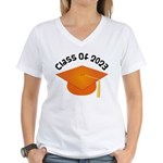 Class of 2023 (Orange) Women's V-Neck T-Shirt