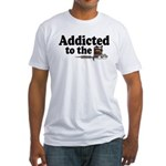 Addicted to the Needle V2 Fitted T-Shirt