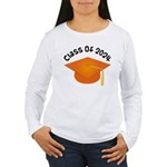 Class of 2024 (Orange) Women's Long Sleeve T-Shirt