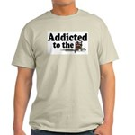 Addicted to the Needle V2 Ash Grey T-Shirt