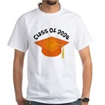 Class of 2024 (Orange) White T-Shirt