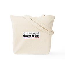 Girls Workout Women Train Tote Bag