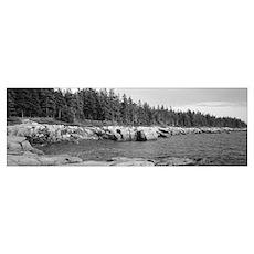 Maine, Acadia National Park, Schoodic Peninsula, R Poster