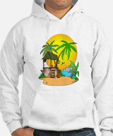 Tiki Bar Closed Hoodie