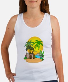Tiki Bar Closed Women's Tank Top