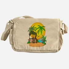 Tiki Bar Closed Messenger Bag