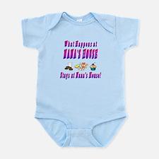 What Happens At Nana's House Infant Bodysuit