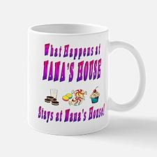 What Happens At Nana's House Mug