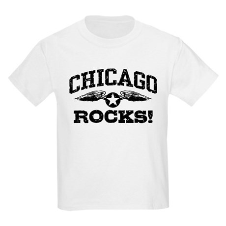 Chicago Rocks Kids Light T-Shirt