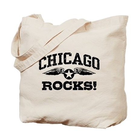 Chicago Rocks Tote Bag
