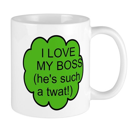 Mug - I Love my boss