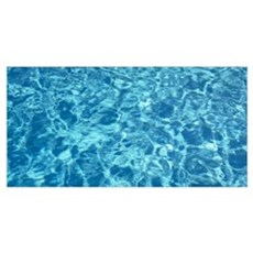 High angle view of water in a swimming pool, Sacra Poster