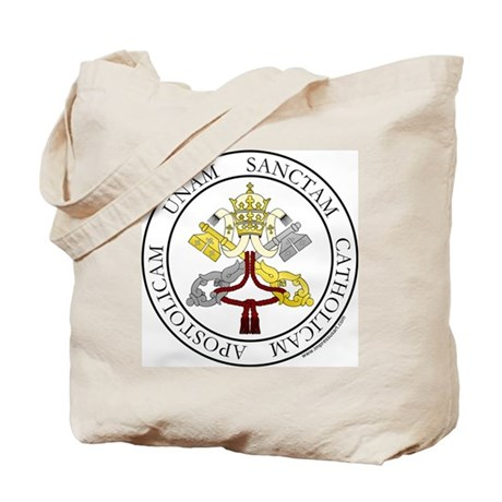4 Marks of the Church - Latin Tote Bag