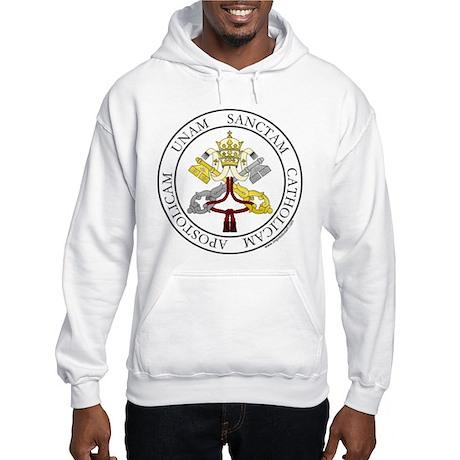 4 Marks of the Church - Latin Hooded Sweatshirt