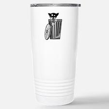 Alley Cat Stainless Steel Travel Mug