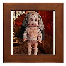 Gothic Agnes doll Framed Tile