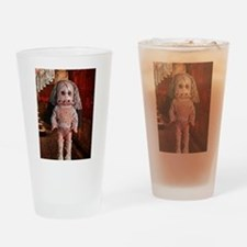 Gothic Agnes doll Drinking Glass