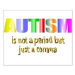 Autism is not a period Small Poster