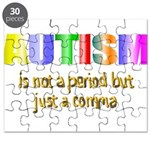 Autism is not a period Puzzle