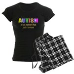 Autism is not a period Women's Dark Pajamas