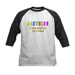 Autism is not a period Kids Baseball Jersey