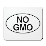 NO GMO Oval Mousepad