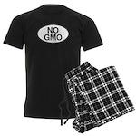 NO GMO Oval Men's Dark Pajamas