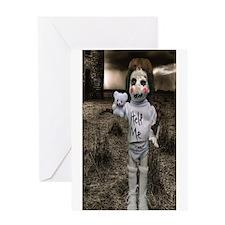 Creepy Anne doll Greeting Card