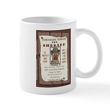 Yorkshire Terrier (Puppy Cut) Small Mug