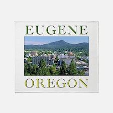 Cute Eugene oregon Throw Blanket