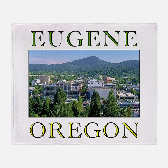 Cute Eugene Throw Blanket