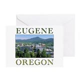 Eugene oregon Greeting Cards