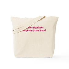 Caffeine Headache Tote Bag