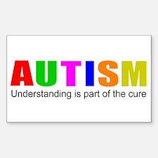 Understanding cures autism Decal