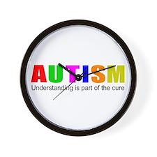 Understanding cures autism Wall Clock