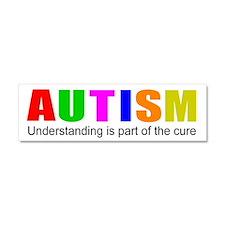 Understanding cures autism Car Magnet 10 x 3