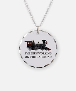 I've Been Working on the Railroad Necklace