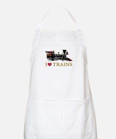 I LOVE TRAINS Apron