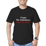 Ride The EMT! Men's Fitted T-Shirt (dark)
