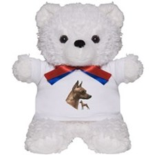 miniature pincher min pin Teddy Bear